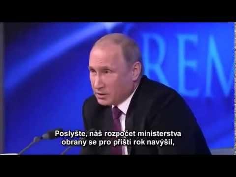 Odpověď V.Putina na otázku J.Simpsona z BBC na tiskové konferenci 18.12.2014.