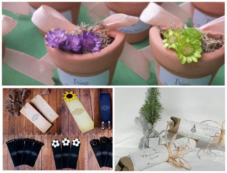 Idei creative de mărturii handmade pentru nuntă