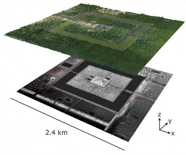 Laser Scanning Reveals New Parts of an Ancient Cambodian City | MIT Technology Review