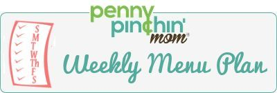 Need some ideas for your weekly menu plan?  Here's ours -- maybe you'll find something new for your family!  #mealplanning #menuplanning