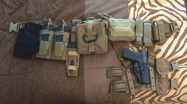 Battle belt loadout