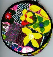 Aboriginal design Coin Purse Water Lillies designed by Gordon Landsen Milyindirri $9.00 or 2 for $16.00 Code:  COIN-WL11