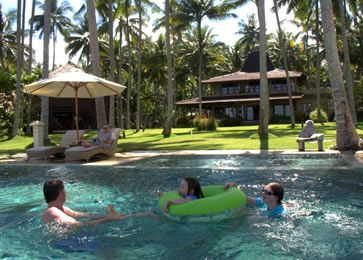 Villa Citakara Sari, East Bali, Indonesia Gorgeous infinity pool overlooking the ocean.