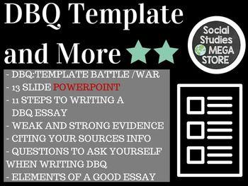 a dbq essay
