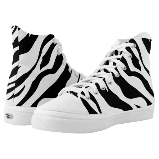 Wild Animal Print Zebra Black White Stripe