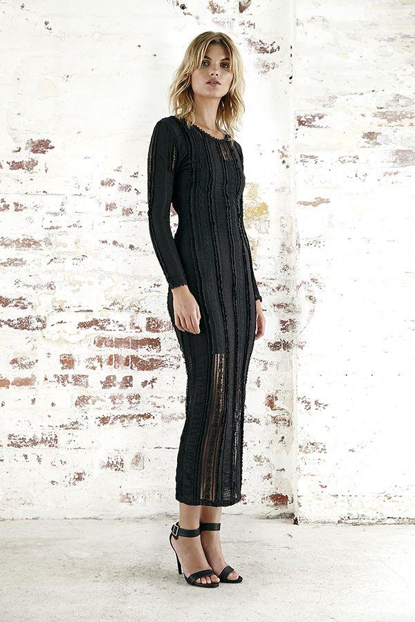 Steele - Fatale Lace Dress - Black