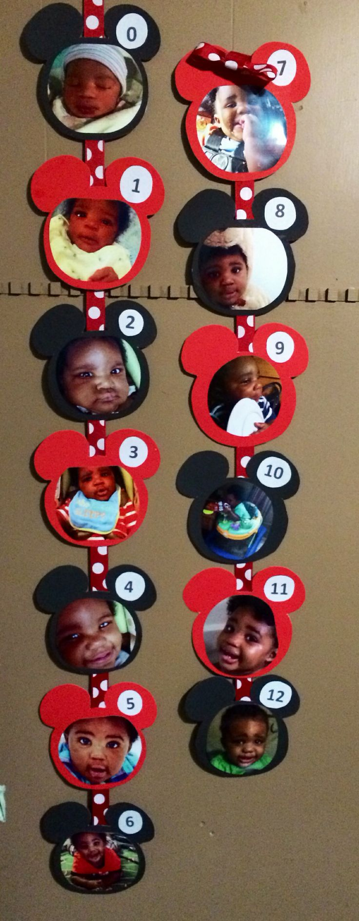 Mickey Mouse birthday decoration