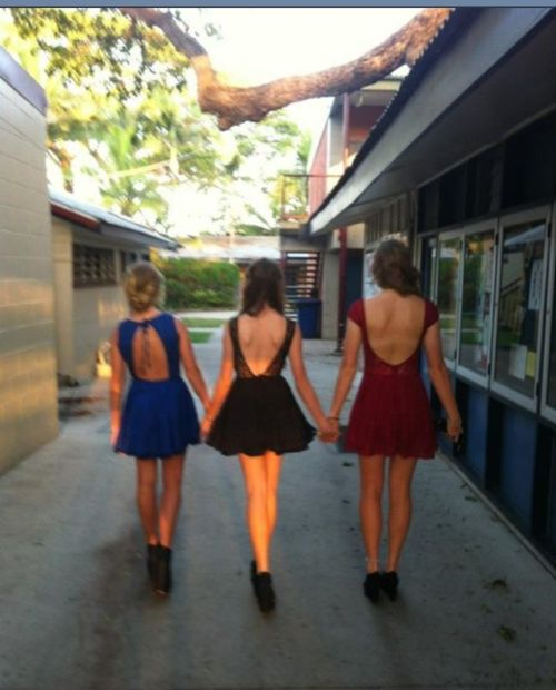 cause were the 3 best friends that anyone could have