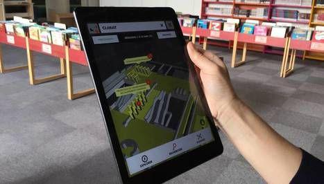 Réalité augmentée : la bibliothèque de la Cité des sciences et de l'industrie augmente ses collections   BiblioThec[a] aperta   Scoop.it