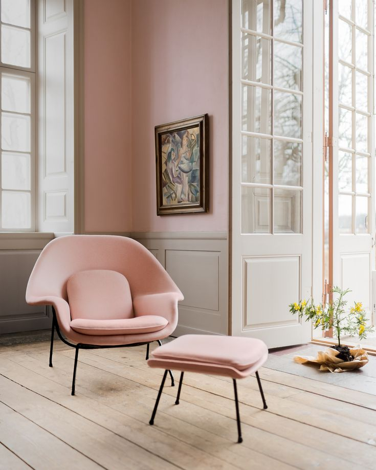 Womb Chair designed by Eero Saarinen https://emfurn.com/collections/home-chairs