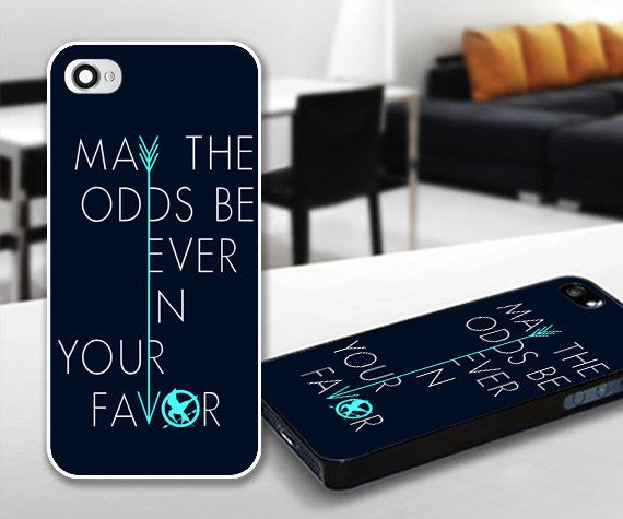 The Hunger Games Quote Print Case for iPhone 4/4s, 5, 5c, 5s, Samsung S3, S4 on Etsy, $17.08 AUD