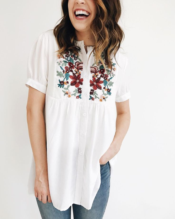 "4,348 Likes, 69 Comments - ROOLEE Boutique (@rooleeboutique) on Instagram: ""Nursing friendly button-ups in full bloom!  Also available in taupe."""