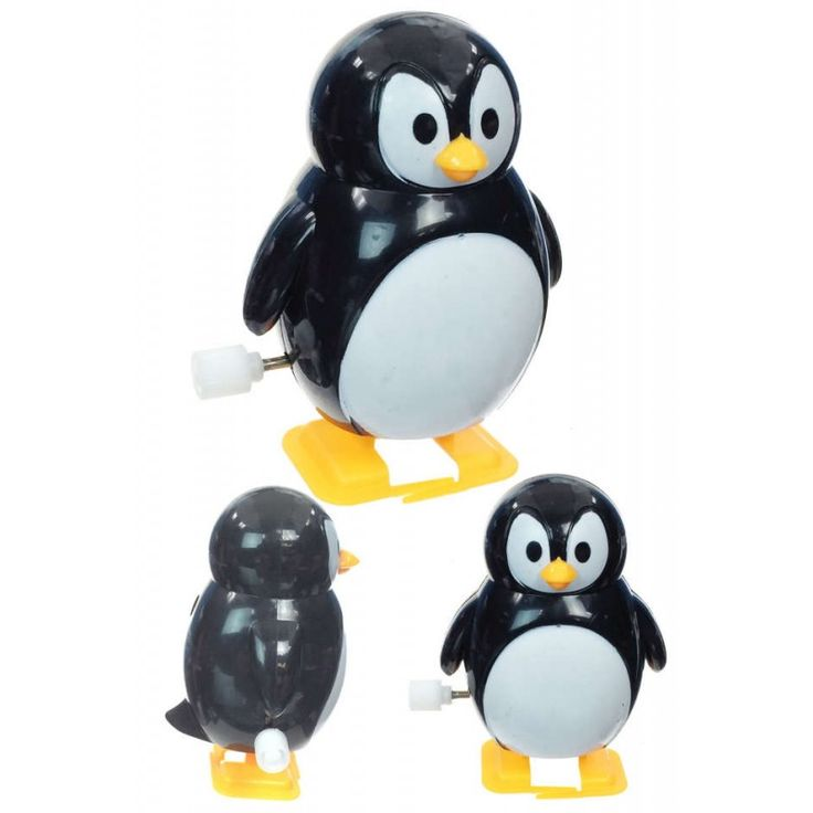 Pete Penguin : Walking Wind Up : Classic Plastic Toy $4.98 tiny toy