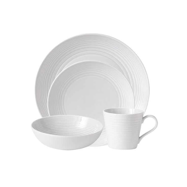Royal Doulton Gordon Ramsay Maze 4-pc. Place Setting, White