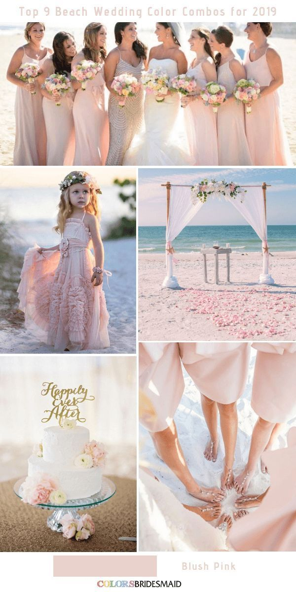 Top 9 Beach Wedding Color Combos Ideas For 2019 With Images