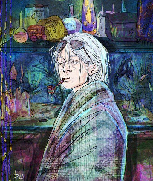 """""""Сила была похожа на необъятного джинна, смерчем просочившегося в крошечную бутылку. Эту игру он любил больше всех. Она пахла амулетом, Седым и его комнатой. Все его тайные игры выросли из комнаты Седого, из его заданий, которые кормили амулет Кузнечика, как рука Седого кормила треугольных рыбок в зеленом аквариуме"""" By Mikhail Nikolaev. https://vk.com/neversawthepoint"""