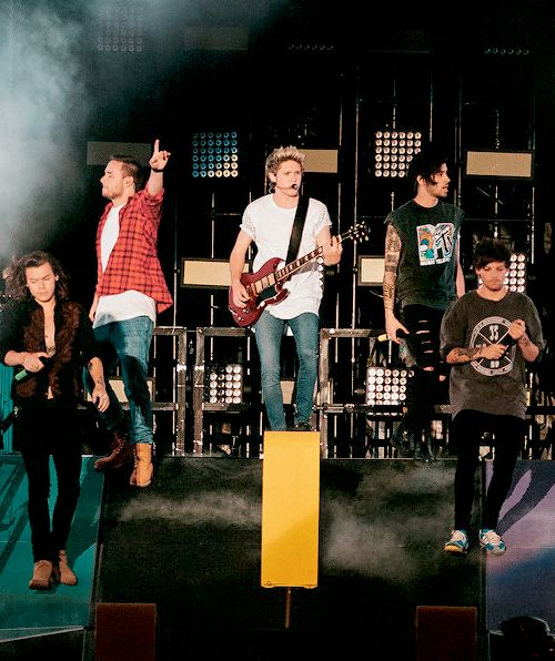 The Boys on stage in Brisbane (11/2/15)