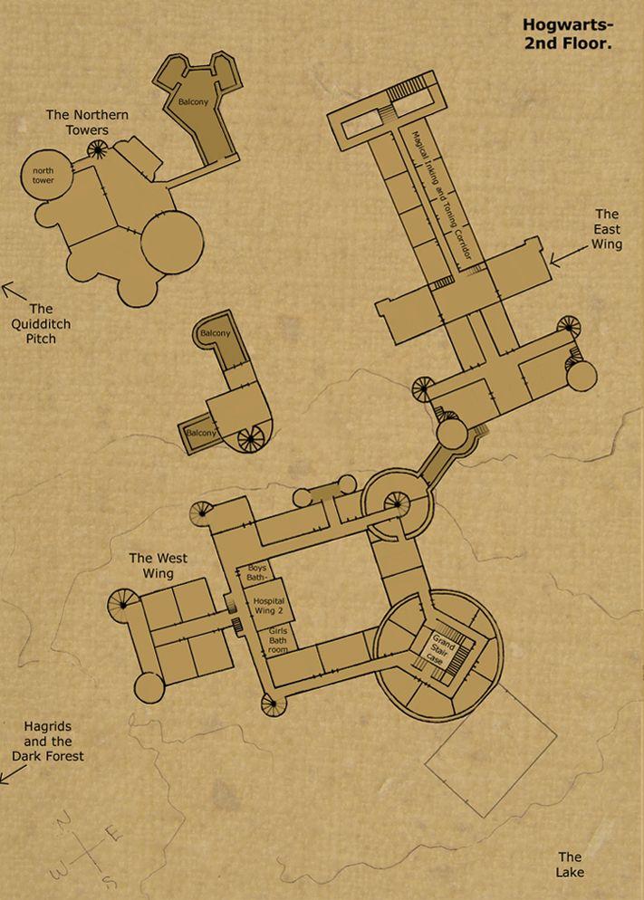 Hogwarts Castle 2nd Floor