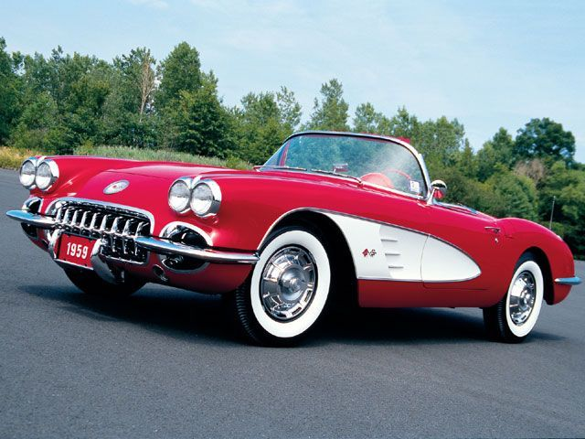 '59 Corvette. Mmmm hmmm. Classic