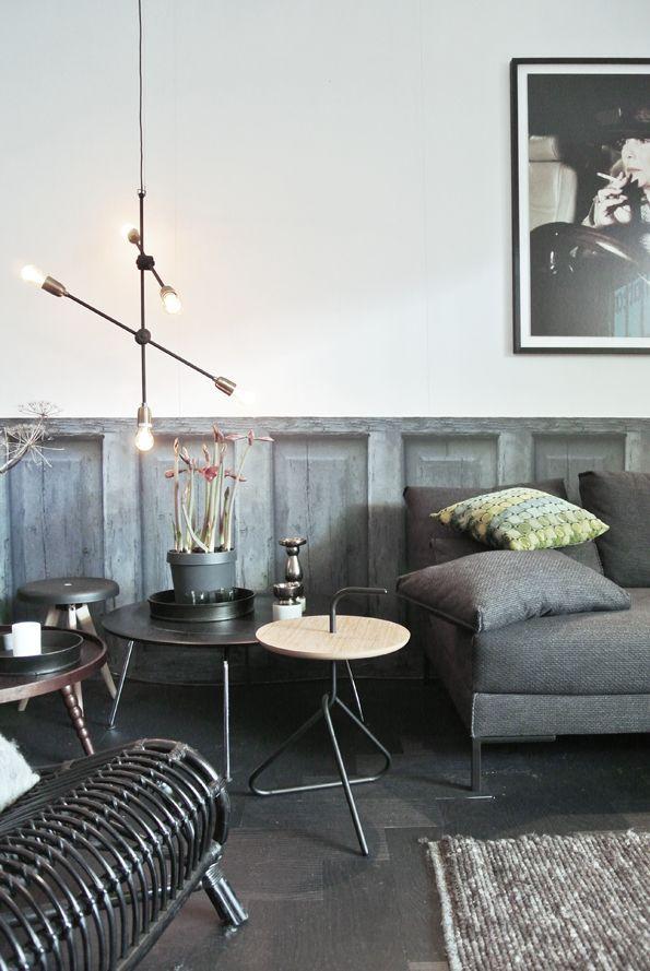 Industrial Interiors, Scandinavian Interiors, Design Interiors, Modern  Interiors, Living Room Lounge, Grey Living Rooms, Interior Architecture,  Grey Room, ...