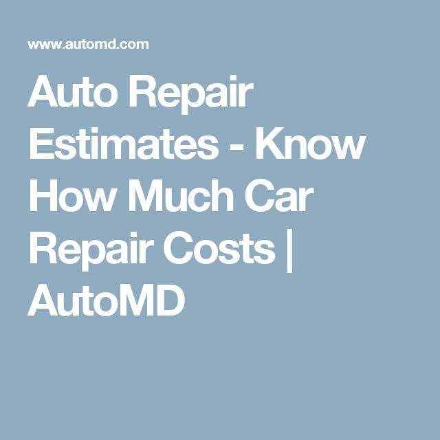 Best 25+ Auto repair estimates ideas on Pinterest