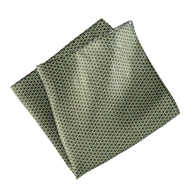H&M Dark Green Silk Handkerchief