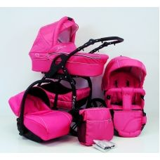 Lucky Pink Travel System Pram 3in1 , available on-line @ www.supremebabyproducts.co.uk £269 and free delivery (UK)