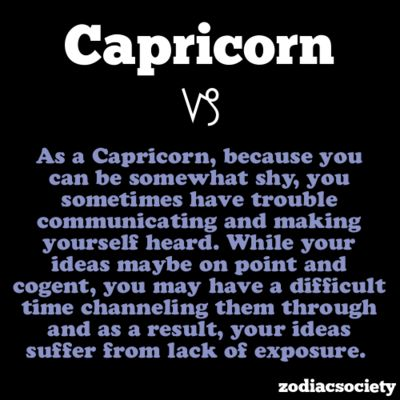 are capricorns shy