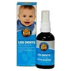 Offre un soulagement efficace de la douleur associée à la poussée dentaire.