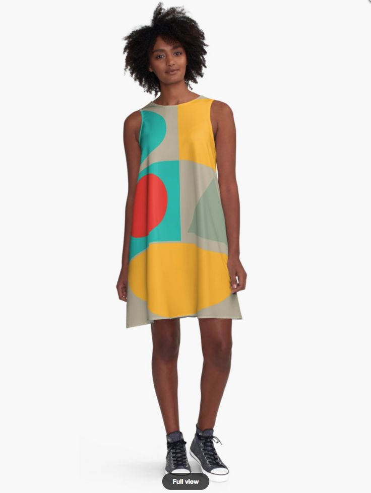 Geometric Dress - Dresses for Woman - Modern Patterns Dress