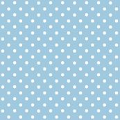 Periwinkle Blue Pin Dots by pearl&phire