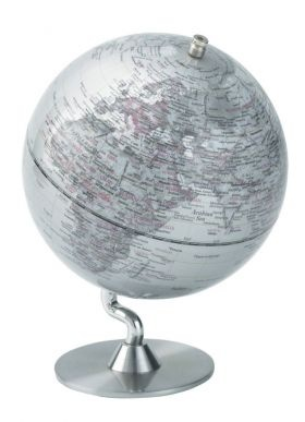 Contemporary Spinning Globe from Found Home Store