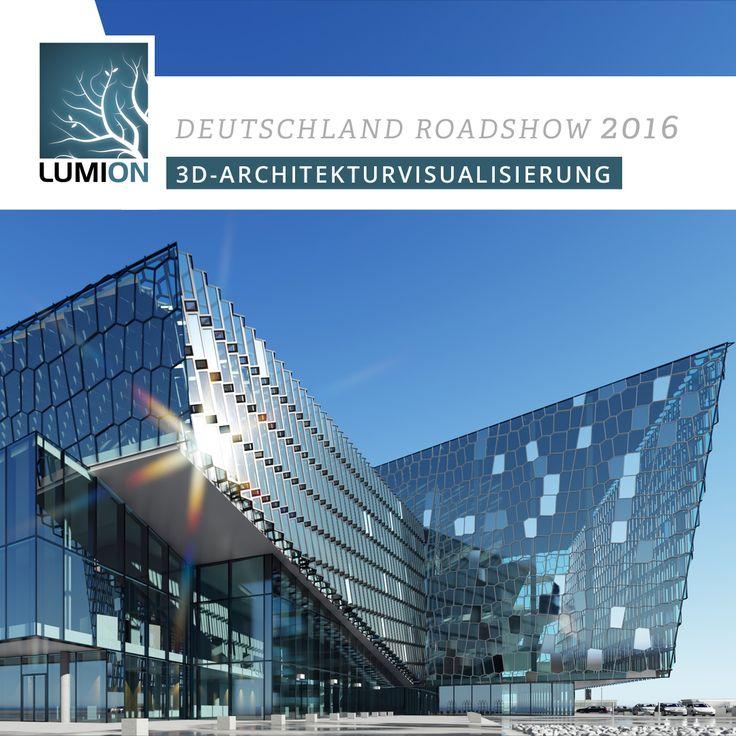 LUMION Deutschland Roadshow 2016  Alle Termine und Orte