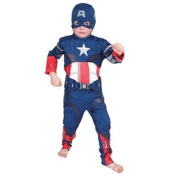 Picture of Captain America Çocuk Kostüm 9-10 Yaş