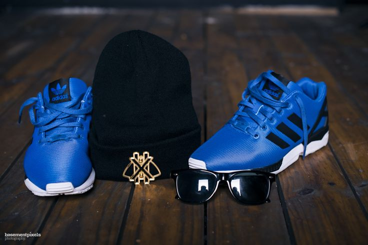 Adidas ZXFlux x GalxBoy. Photo by Mpumelelo Macu [ Basement Pixels ]