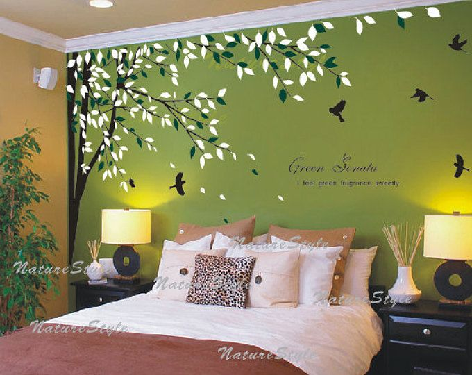 Pin By محمد On My Saves In 2020 Wall Decor Living Room Wall Decals For Bedroom Wall Stickers Living Room #tree #wall #decal #for #living #room