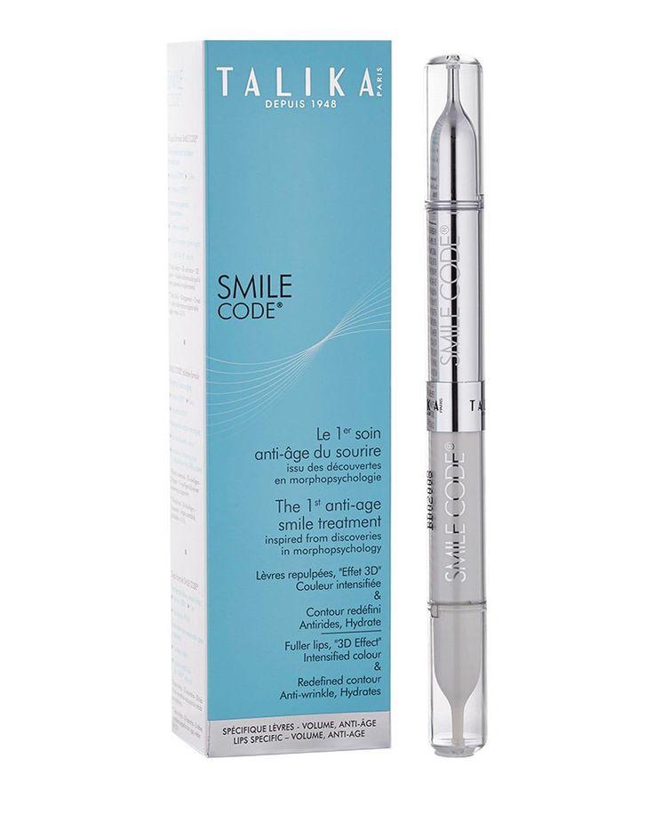 Smile Code Lippenpflege von Talika Mit der Smile Code Lippenpflege von Talika schenken Sie sich und Ihren Lippen die passende Pflege. Zu empfehlen ist sie für die Damen, die es außergewöhnlich mögen. Gönnen Sie Ihren Lippen die Pflege, die sie benötigen – mit der Smile Code Lippenpflege von Talika!