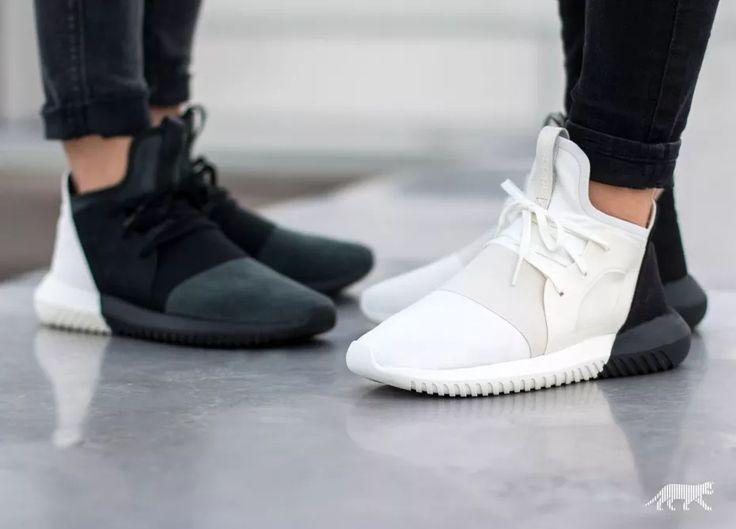 adidas Tubular Defiant W (Core Black / Core Black / Off White)