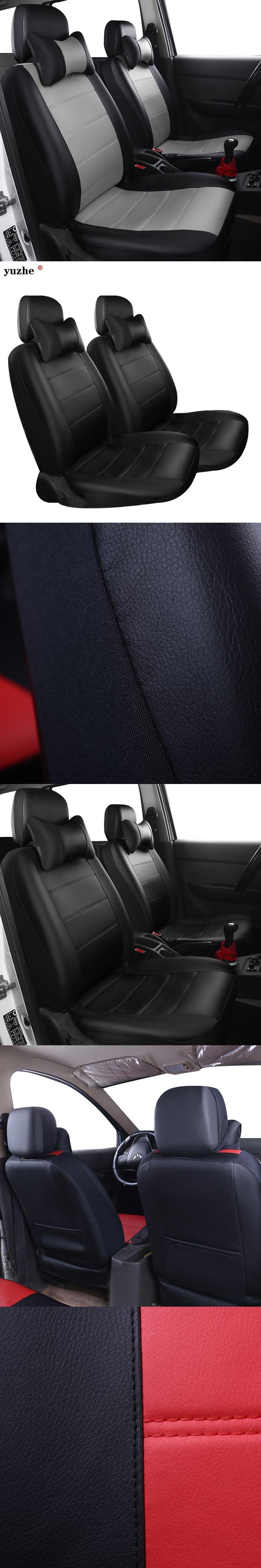 Yuzhe PU Leather Auto Universal Car Seat Covers Automotive Seat Covers for toyota lada kalina granta priora renault logan