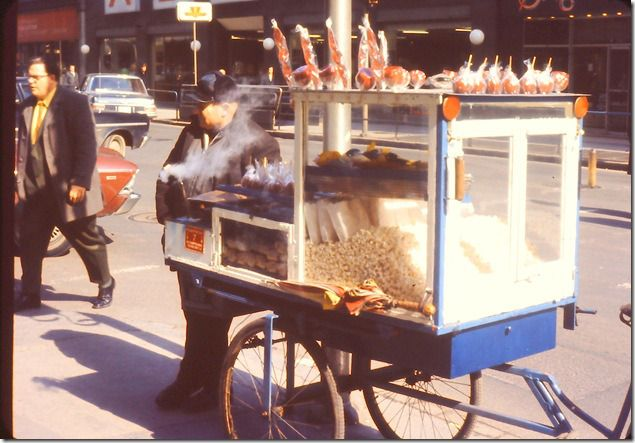 Popcor cart - I can still smell the melted butter