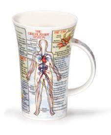 Dunoon Mug Human Body Systems Mug - (16.9 Oz.) I need this. I'm a need. I know.