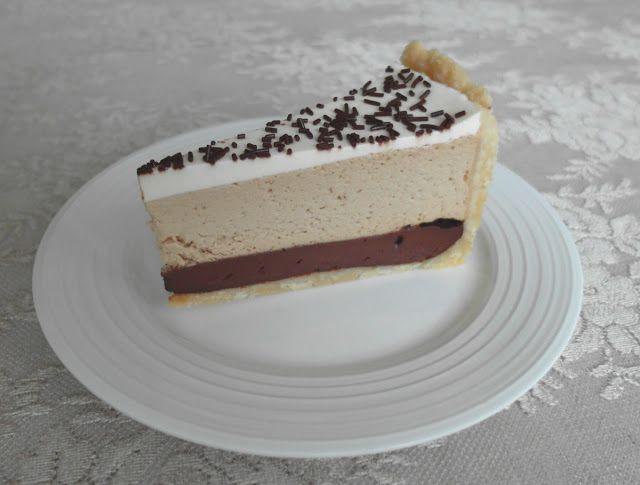 Aneta Goes Yummi: Kávovo-čokoládová tvarohová torta