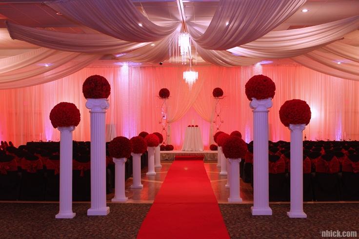 Floral Wedding Aisle Decorations