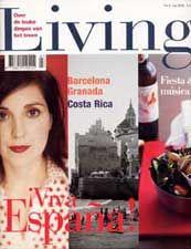 Living - super mooi tijdschrift over reizen, lifestyle, food etc. Jammer dat dit niet meer bestaat!