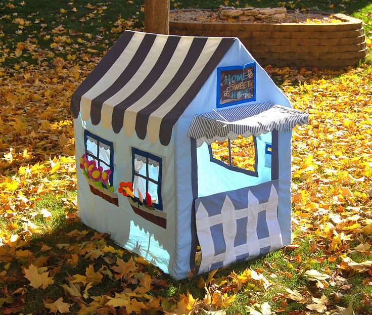fabric playhouse!: Playhouses, Art, Kids Tents, Pvc Pipes, Playhouse Tents