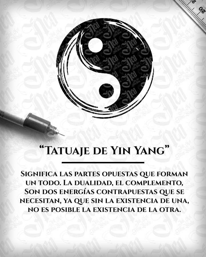 Significado Tatuaje De Ying Yang Tatuajes Tatuajes Con