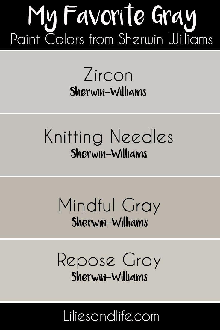 Knitting Needles Vs Repose Gray
