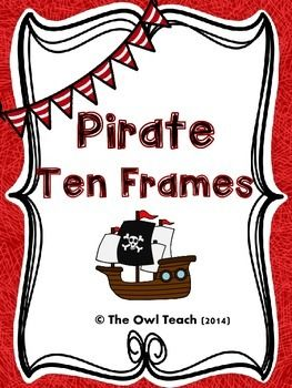Pirates: Pirates Themed 10 FramesPirates: These Pirate Ten Frame Posters are perfect for your Pirate themed classroom! Posters include numbers 1-20, and include the number in standard form, word form, and as a ten frame picture! Perfect for a number line across your classroom, or printed as mini-flash cards!Pirates l Pirate Theme l Pirate l Ten Frames l Class Decorations l Classroom Decor l Preschool l Kindergarten l First Grade l Second Grade l Third Grade l Pirates Theme l Pirate Ten…