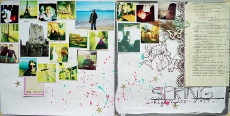 lots of photos + double layout + journaling: Photo