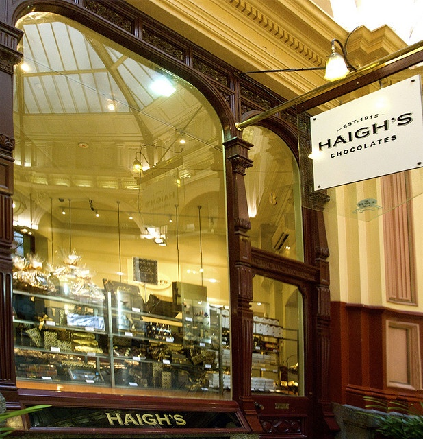 Haigh's Chocolate Shop in Melbourne, Australia By teelawn  Tina Barker